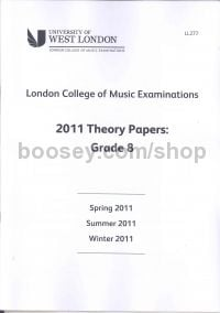 Theory Past Papers 2011 - Grade 8