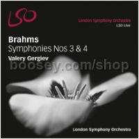 Symphonies No. 3 & 4  (LSO Live SACD)