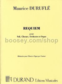 Requiem Op. 9 (vocal score)
