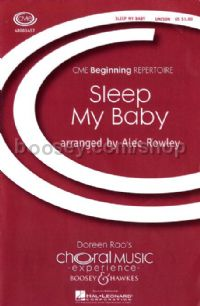 Sleep My Baby - choral unison & piano