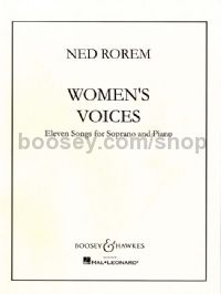 Women's Voices - soprano & piano