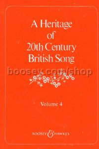 Heritage of 20th Century British Song: Vol 4