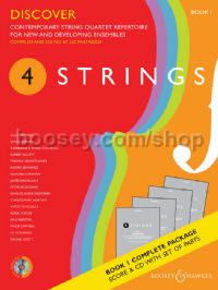 4 Strings Book 1 - Discover (Score, Parts & CD)