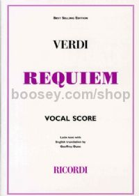 Requiem (English/Latin Vocal Score) Paperback