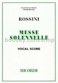Petite Messe Solennelle (English/Latin Vocal Score)