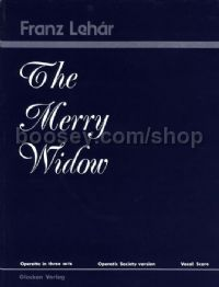 Merry Widow Vocal Score Operatic Society Version