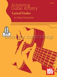 Achieving Guitar Artistry-Lyrical Etudes (Book & Online Audio)