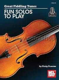 Great Fiddling Tunes- Fun Solos to Play (Book & Audio-Online)