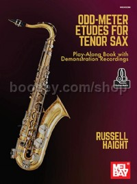 Odd-Meter Etudes for Tenor Sax (Book & Online Audio)