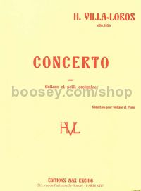 Concerto for Guitar - guitar solo & piano reduction