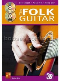The Folk Guitar In 3D (Book, CD & DVD)