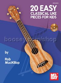 20 Easy Classical Uke Pieces for Kids (+ CD)