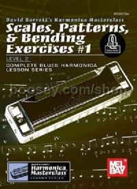 Scales, Patterns, & Bending Exercises #1 for Harmonica