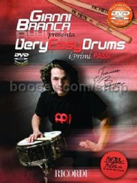 Very Easy Drums (Percussion) (Book & DVD)