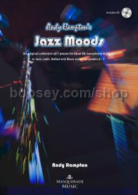 Jazz Moods for saxophone & piano (with CD)