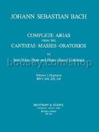 Complete Arias, Vol. 2 for soprano, flute & piano