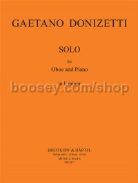 Solo For Oboe & Piano