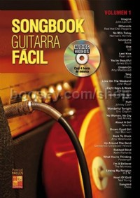 Songbook Guitarra Fácil - Volumen 1 (Book & DVD)
