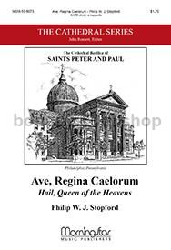 Ave, Regina Caelorum/ Hail, Queen of the Heavens