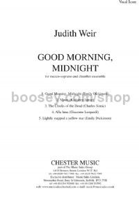 Good Morning, Midnight (Vocal Score)