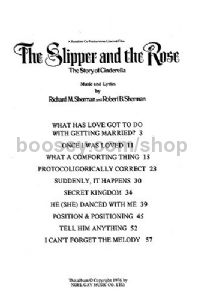 Selections From 'The Slipper and The Rose'