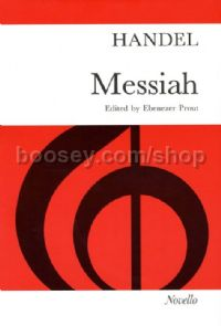 Messiah (Vocal Score) (Paperback, Prout Edition)