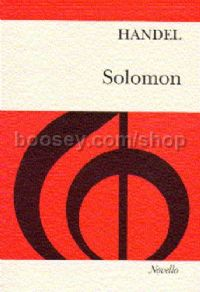 Solomon (vocal score)