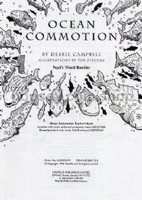 Ocean Commotion (Pupil's Word Booklet)