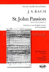 St. John Passion (Vocal Score)