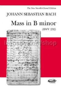 Mass In B Minor (Vocal Score)