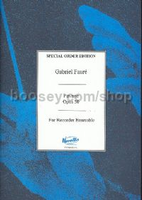 Pavane, Op.50 (Recorder Ensemble)
