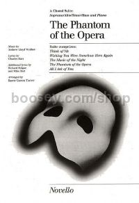 The Phantom of the Opera - choral suite (SATB)