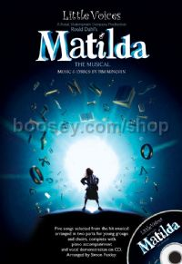 Little Voices - Matilda (The Musical) (Book & CD)
