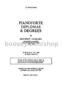 Piano Diplomas and Degrees (Book)