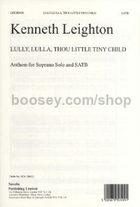 Lully, Lulla, Thou Little Tiny Child (Soprano & SATB)
