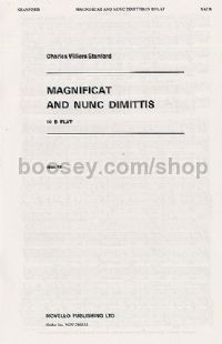 Magnificat and Nunc Dimittis: In B Flat