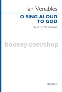 O sing aloud to God (SATB Choral Score)