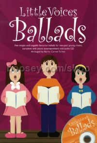 Little Voices: Ballads (Two-part Chorus & Piano) (Book & CD)