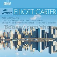 Late Works: Interventions / Dialogues / Epigrams (Ondine CD)