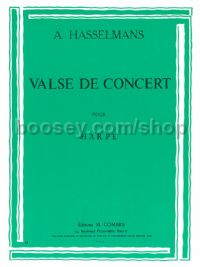 Valse de Concert (for harp)