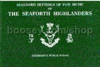 Seaforth Highlanders Standard Settings Pipe Music