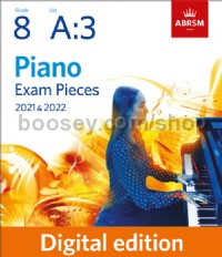 Prelude and Fugue in B flat (No. 2 from Three Preludes and Fugues, Op. 16) (Grade 8, List A3)