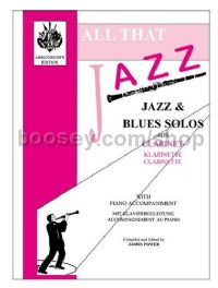 All That Jazz for clarinet & piano