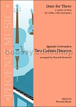 Two Cuban Dances  Piano Trio