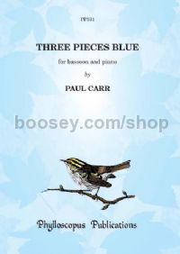 Three Pieces Blue for bassoon & piano