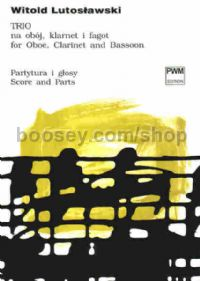 Trio for Oboe, Clarinet and Bassoon (score & parts)