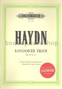3 London Trios Hob.IV/1-3 (with CD)