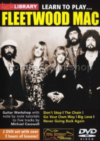 Learn To Play Fleetwood Mac Lick Library DVD