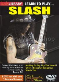 Learn To Play Slash Lick Library DVD