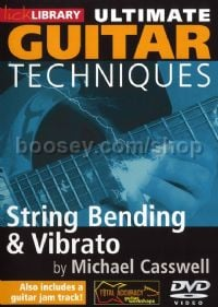 Ultimate Guitar Techniques - String Bending & Vibrato (DVD)